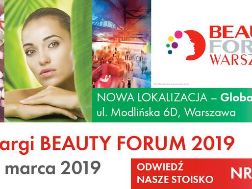 BEAUTY FORUM 2019 - NOWA LOKALIZACJA!