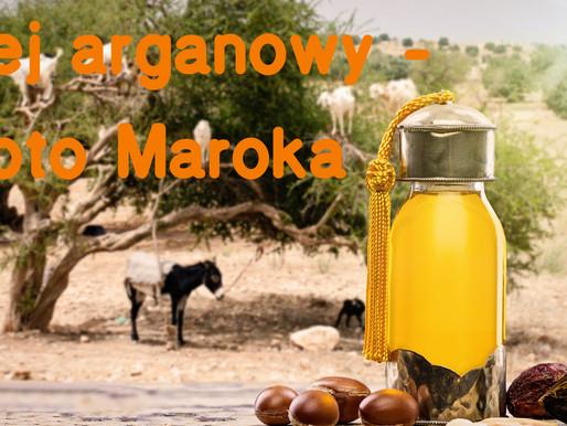 Olej Arganowy - złoto Maroka