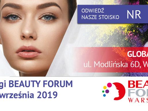Spotkajmy się na 32. Targach  BEAUTY FORUM 2019 już 21-22 września w Warszawie!