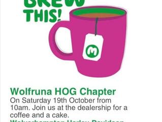 Wolfruna Macmillan Coffee Morning