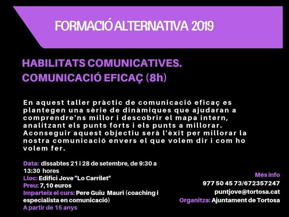 Habilidades de comunicación 2019