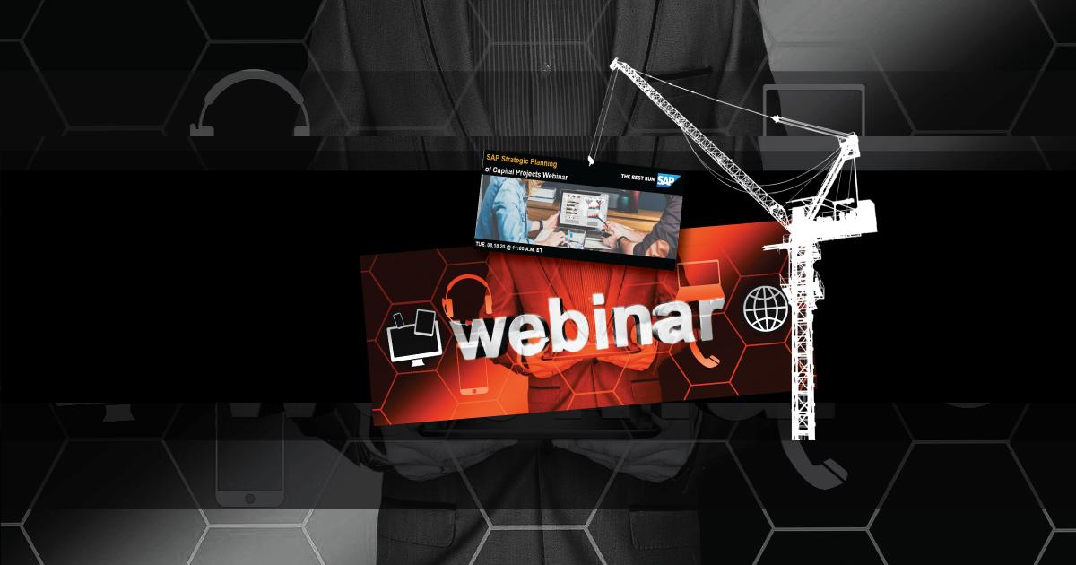 SAP Capital Planning Free Webinar