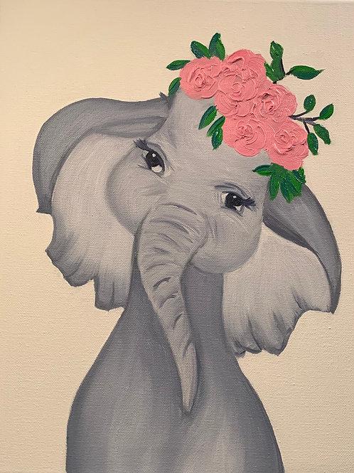 Nursery Décor-Single Unit-Baby Elephant