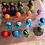 Thumbnail: Small Acrylic Pour Ornaments-Single