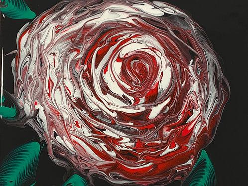 Rose Art (R/B/W)-Chain Pull