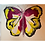 Thumbnail: Butterfly Chain Pull-Pink/Yellow/Black