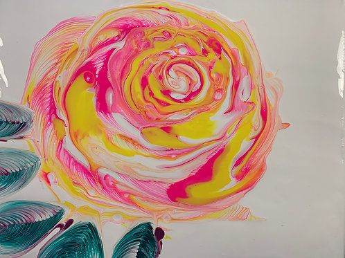 Rose Art (P/Y/O)-Chain Pull