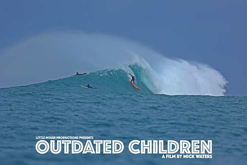 'OUTDATED CHILDREN' A3 POSTER