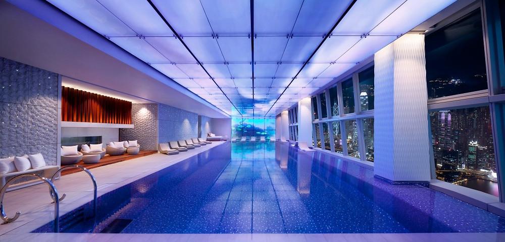 Swimming Pool on 118 - Night