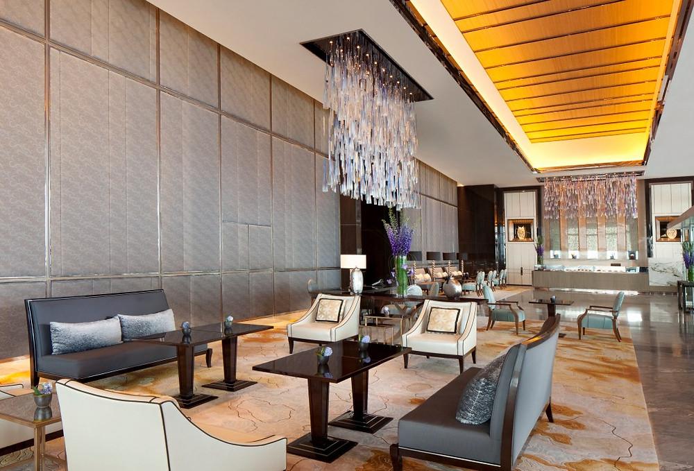 Arrival Lobby on Level 9 - The Ritz Carlton Hong Kong - Image Courtesy of Ritz Carlton