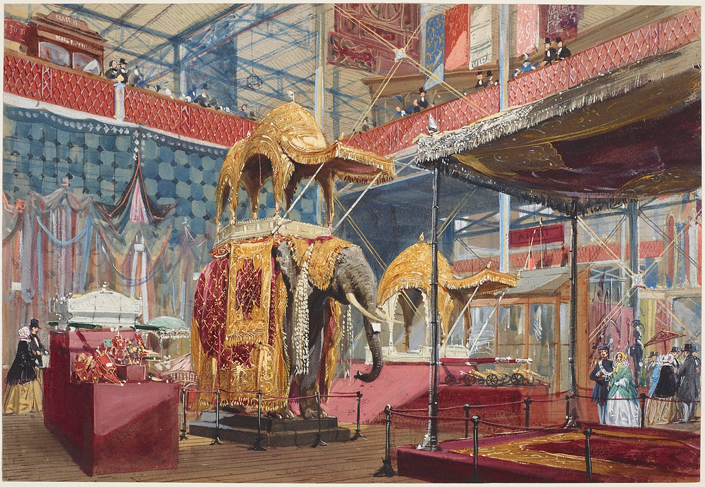 The Great Exhibition, India No 4 - Image Courtesy of Royal Collection Trust