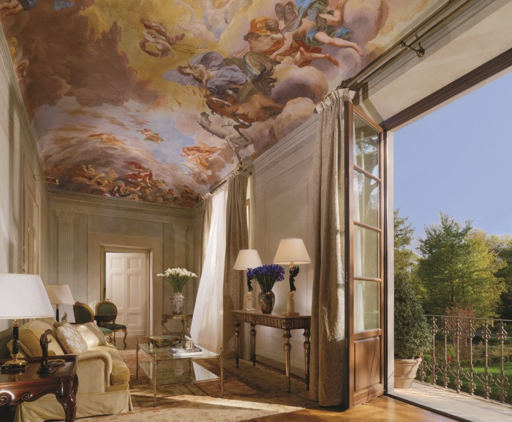 Presidential Suite at The Four Seasons Firenze Image courtesy of The Four Seasons