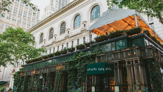 Bryant Park Grill - Image Courtesy of Bryant Park Grill