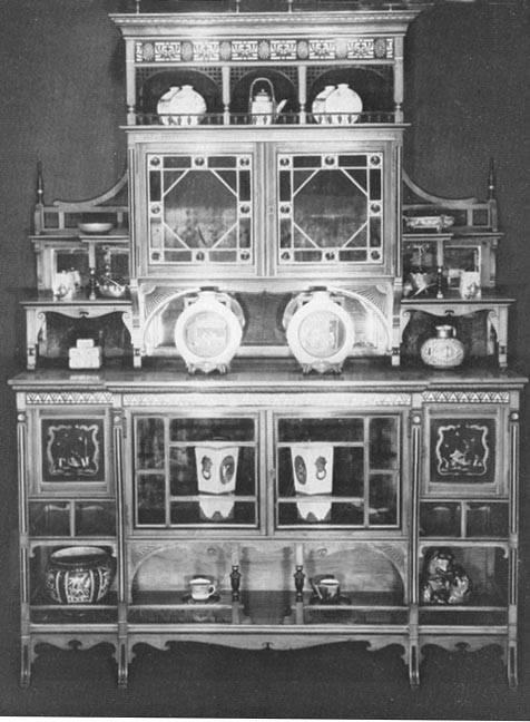 Cabinet (No.299) by Lamb of Manchester - Image Courtesy of The Victorian Web & The Fine Art Society