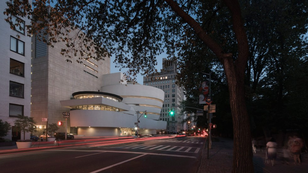 Solomon R. Guggenheim Museum - Image Courtesy of Guggenheim Museum