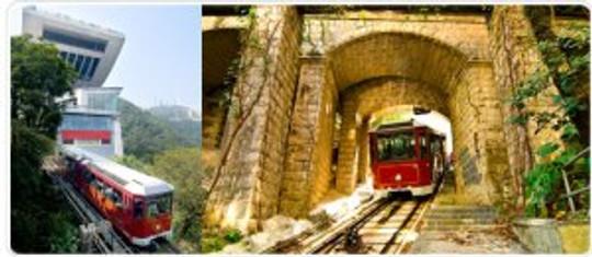 The Victoria Peak Cable Car