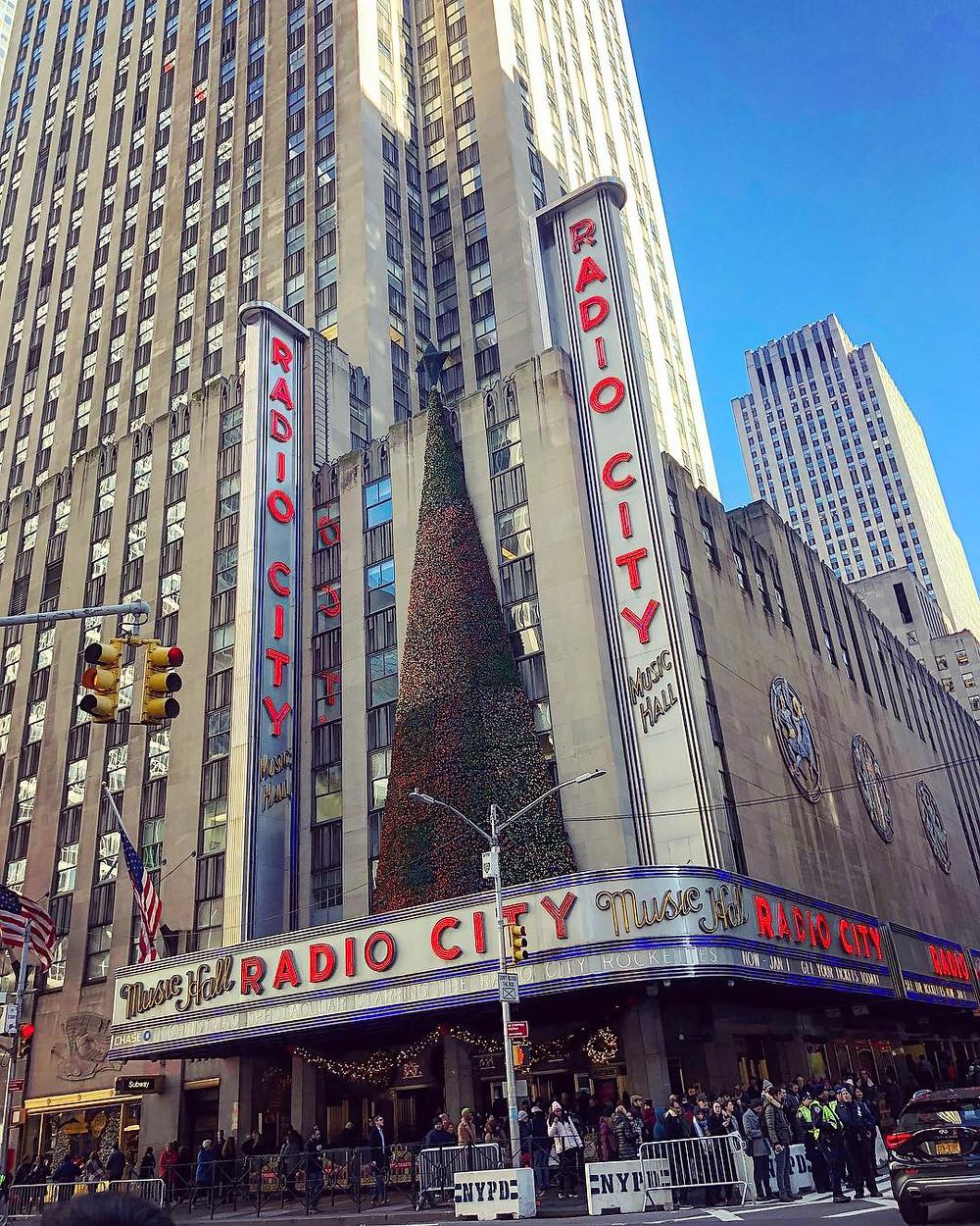 The Rockettes at Radio City