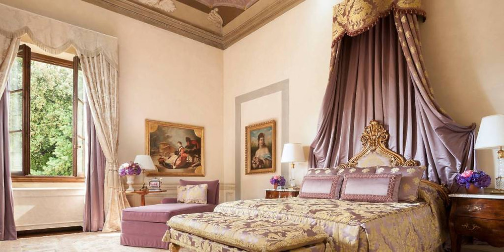 The Royal Suite at The Four Seasons Firenze Image courtesy of The Four Seasons