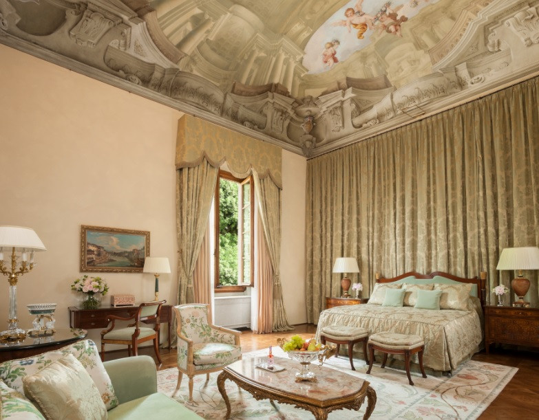 Renaissance Suite at The Four Seasons Firenze Image courtesy of The Four Seasons
