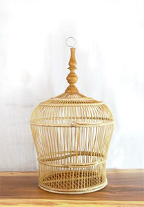 Bamboo Bird Cage - Image Courtesy of Pinterest