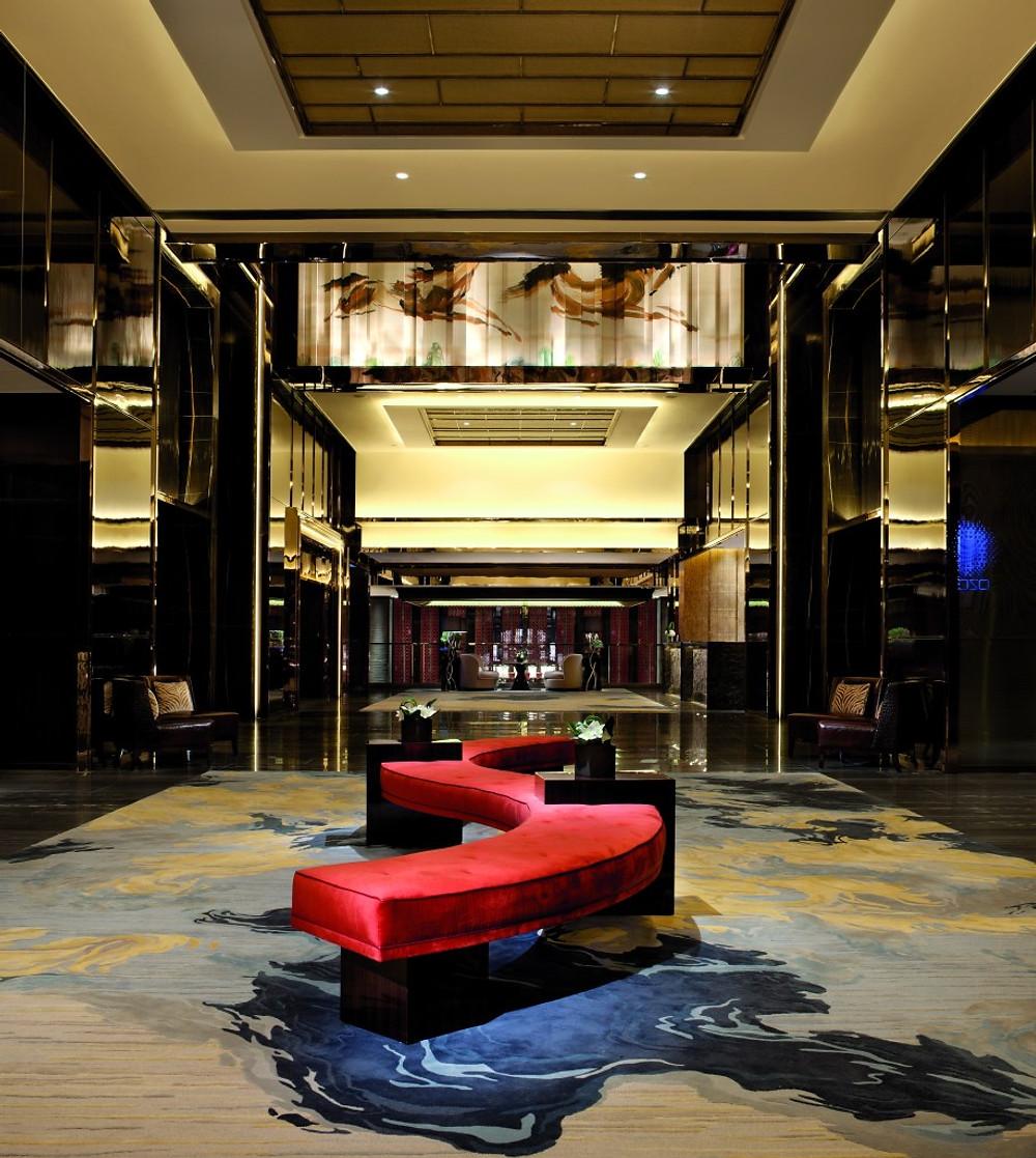 Reception Lobby on Level 103 - The Ritz Carlton Hong Kong - Image Courtesy of Ritz Carlton