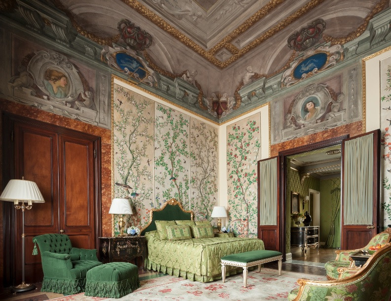 Gallery Suite at The Four Seasons Firenze Image courtesy of The Four Seasons