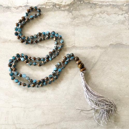 PRAYER MALA - IMPRESSION JASPER