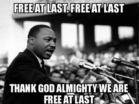 How to make Dr. King's dream a reality!