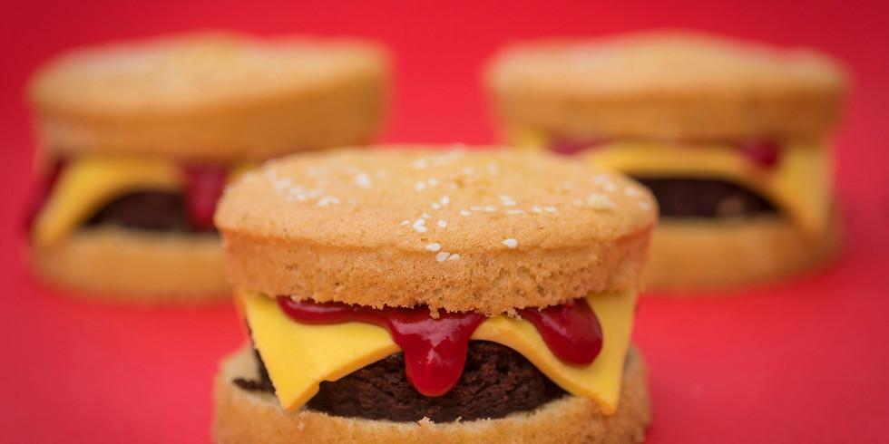 Ian's Burger Cakes Class