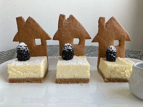 Howard's Online Gingerbread House & Garden Cheesecake Class-Sun 13th Dec - 5pmUK