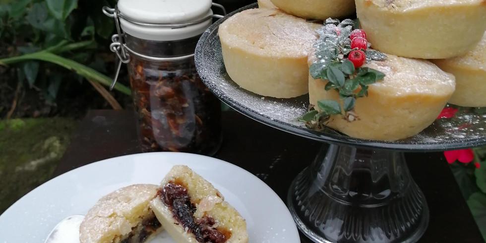 Karen's Frangipane Mince Pies with Butter Brandy