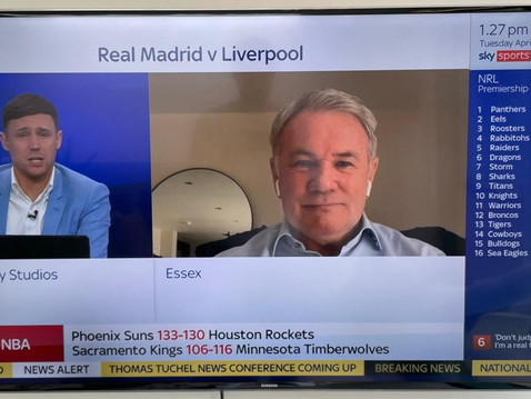 Ray Houghton joined Sky Sports News