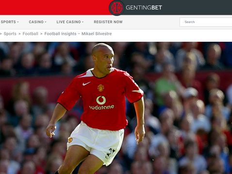 Mikael Silvestre joins GentingBet for Football Insights