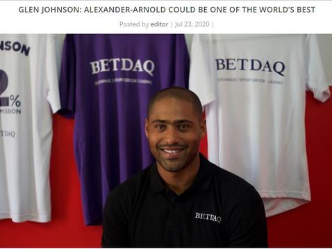 Glen Johnson for BETDAQ