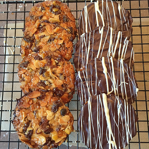Jane's Online Florentines and Biscotti Class - Sunday 15th November -  5pm UK