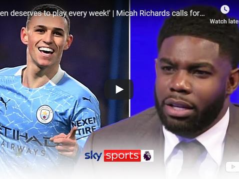 Micah Richards is back on Sky for Super Sunday