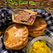 Pork Pie & Piccallili (Veggie Option Available)