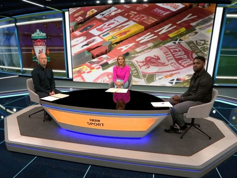 Micah Richards on BBC Match of the Day 2