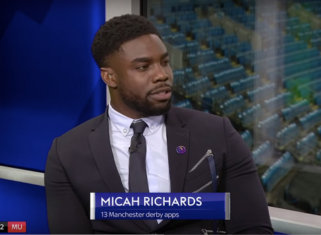 Micah Richards makes Sky Sports Debut