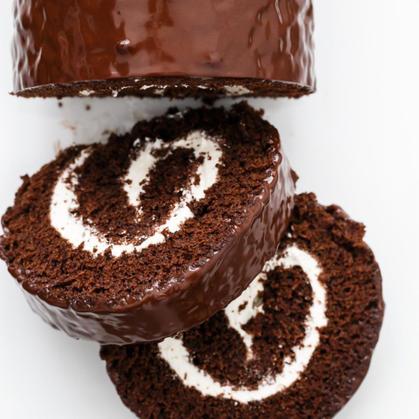 Chocolate Mini Roll