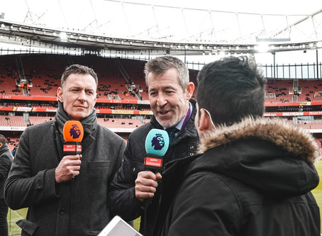 Nigel Martyn Features on Astro Stadium For Arsenal vs Everton