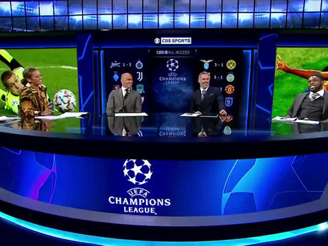 Micah Richards joins CBS for the return of The Champions League