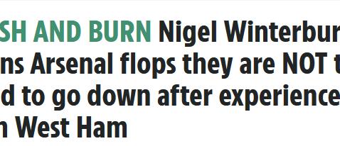 Nigel Winterburn talks to Fantasy5 and The Sun