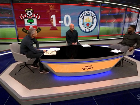 Micah Richards on Record Breaking Day for BBC