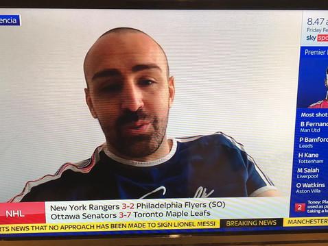 Jose Enrique joins Sky Sports News