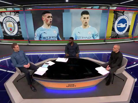 Micah Richards back on Match of the Day