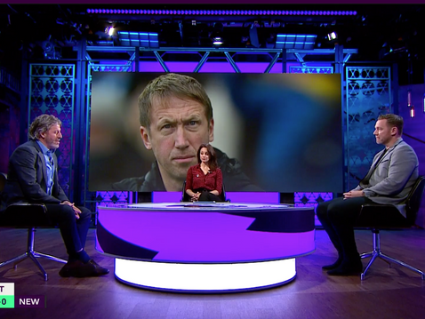 Kevin Nolan joins Premier League Productions for their coverage of Brighton vs Newcaste