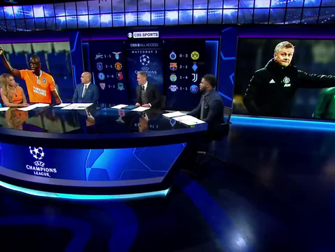 Micah Richards joins CBS for two nights for Matchday 3 of the Champions League