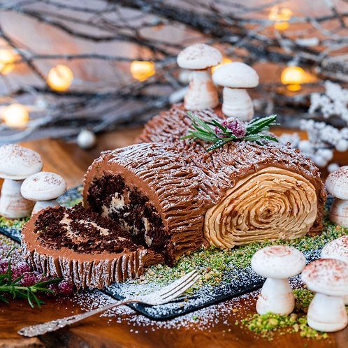 Dan's Online Buche De Noel (Yule Log) Class - Sat 5th Dec - 8pm UK