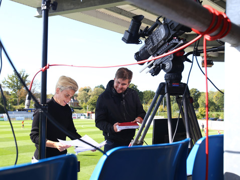 Sue Smith joins the Commentary team for Southampton Ladies